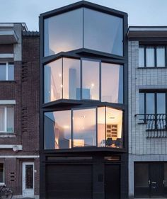 The Abeel House  is designed by Miass Architecture Steven Vandenborre and is located in #Gent #Belgium. Photo by Tim van de Velde - Architecture and Home Decor - Bedroom - Bathroom - Kitchen And Living Room Interior Design Decorating Ideas - #architecture #design #interiordesign #homedesign #architect #architectural #homedecor #realestate #contemporaryart #inspiration #creative #decor #decoration