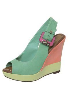 Dumond Dumond Sandal Heels Green - Buy Now | Dafiti