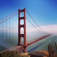 Golden Gate Bridge à San Francisco, CA