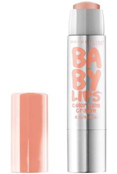 Baby Lips Color Balm Crayon by Maybelline. A colored and moisturizing lip balm with 12 hours of hydration for soft, smooth lips and a burst of bright color.