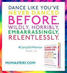 #CarryOnWarrior