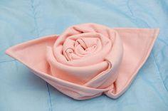 Cloth Napkin Rose