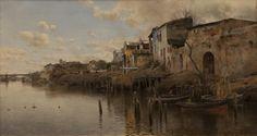 Triana de Emilio Sanchez-Perrier (1855-1907, Spain)