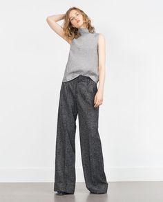 Trousers Wide Leg