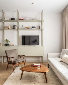 Glass Partition Wall, Design Palette, Residential Complex, Apartment Renovation, French Bistro, Study Space, Minimalist Interior, Modern Retro, Built In Storage