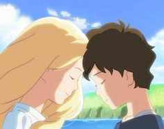 "I watched the new Ghibli movie ""When Marnie Was There"". It was a heartwarming movie, and the animation was really beautiful! When Marnie Was There Studio Ghibli Art, Studio Ghibli Movies, Hayao Miyazaki, Erinnerungen An Marnie, When Marnie Was There, Manga Anime, Anime Art, Anime Films, Animation Film"
