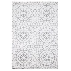 Rocha.John Rocha Designer cream lace wool rug- at Debenhams.com