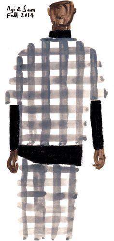 Fashion: See Charlotte Trounce& illustrated iterations of this season& Fashion Illustration Vintage, Illustration Art, Illustrations, Patten Design, Silhouette Mode, Fashion Portfolio, My Favorite Image, Technical Drawing, Design Development
