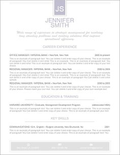 Free Resume Template   Premium Line Of Resume  Cover