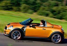 """MINI """"Roadster"""" will launch at the Frankfurt Auto Show in September Frankfurt, Mini Cooper D, Mini Usa, British Steel, John Cooper Works, Mini Clubman, Cute Cars, Gmc Trucks, Fast Cars"""