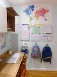 Sala de estudio para toda la familia.