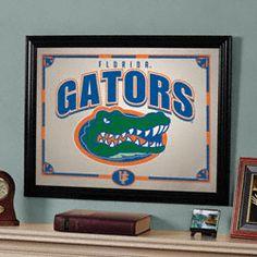 Florida Gators Framed Mirror $55.99