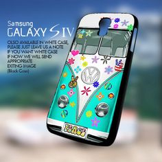 VW Bus Peace Love-Samsung Galaxy S4 | GoToArt - Accessories on ArtFire