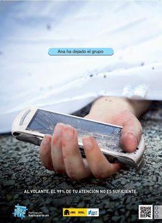 ¿Cada cuánto tiempo miras el whatsapp? Si conduces, DESCONECTA, no abandones el grupo antes de tiempo. DGT