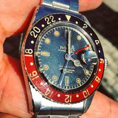 PREVIEW of my Summer catalogue Rolex GMT Master 1955 possibly the best earliest example i ever saw !!!🤗🤗🤗🤗 #rolex #rolexwatch #rolexlover #watch #watchesofinstagram  #vintage #vintagewatches #vintagetoys #cool #collectible #rolexpassionreport #rolexpassionmarket #gmtmaster #steel #best #bestquality