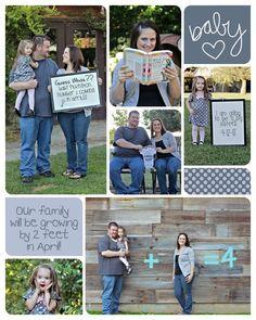 Pregnancy Announcement!! Baby #2