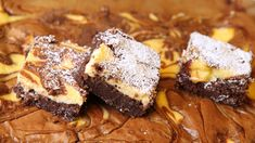Lise Finckenhagens brownies med kremost smaker aller best etter at de har avkjølt seg en natt i kjøleskapet.