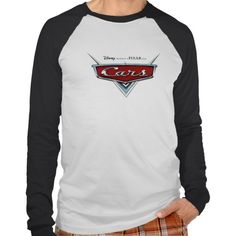 Cars Official Movie Logo Disney Tee Shirt