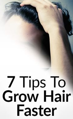 Our hair is always growing but our genetic makeup affects how fast our hair will grow. The average rate of hair growth is ½ inch per month. So how do we get it to grow faster? Here are 7 ways to grow your natural hair Ways To Grow Hair, Grow Natural Hair Faster, Longer Hair Faster, How To Grow Your Hair Faster, How To Make Hair, Natural Hair Men, Natural Oil, Growing Long Hair Men, Hair Growing Tips