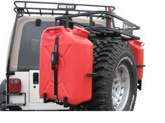 Garvin Industries Driver Side Jerry Can Holder | Jeep Parts and Accessories | Quadratec