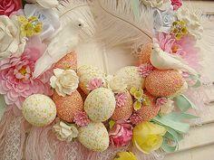 Detail Easter Wreath