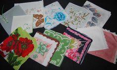Vintage Handkerchief Tears of Joy by CheekyVintageCloset on Etsy, $34.50