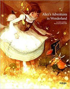 Alice's Adventures in Wonderland in Hard Cover (English Edition), Illustrator by Minji Kim: Lewis Carroll: 9788992632799: Amazon.com: Books
