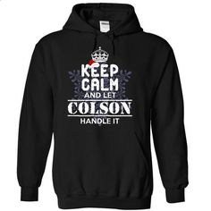 COLSON-Special For Christmas-yngaluvmha - #hostess gift #gift certificate. BUY NOW => https://www.sunfrog.com/Names/COLSON-Special-For-Christmas-yngaluvmha-Black-13267535-Hoodie.html?id=60505