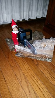 Cutting some firewood!