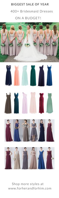 Crazy Spring Sale! Up to 50% off ALL bridesmaid dresses in March, DON'T MISS IT!