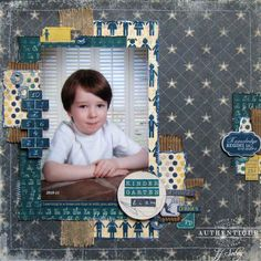 Layout made by Authentique Paper DT Member JJ Sobey