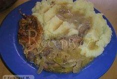 Kuřecí plátky na žampiónech a cibuli Pork, Beef, Kale Stir Fry, Meat, Pigs, Ox, Ground Beef, Steak