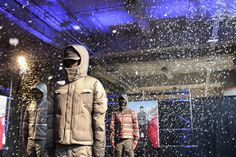 """White Mountaineering x Moncler 2013 Fall/Winter """"Moncler W"""" Collection."""