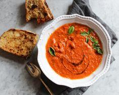 Lentil Soup Recipes, Easy Soup Recipes, Crockpot Recipes, Vegetarian Recipes, Free Recipes, Copykat Recipes, Tomato Basil Soup, Good Food, Yummy Food