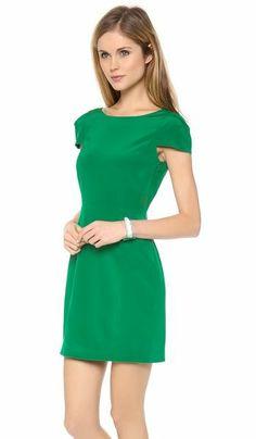 REVEL: Emerald Party Dress
