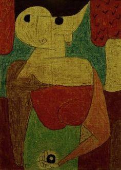 Paul Klee - omphalo-centrischer Vortrag,