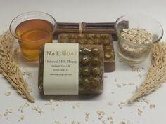 Oatmeal and Honey Exfoliating soap by NatuSoap on Etsy