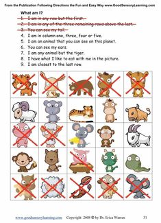 Following Directions Worksheets Intermediate | Good Sensory Learning This intermediate workbook offers another colorful digital download that was created and student tested to offer fun and engaging activities that improve language processing skills. $ #followingdirections #listeningskills #followingdirectionshandouts #followingdirectionsactivities