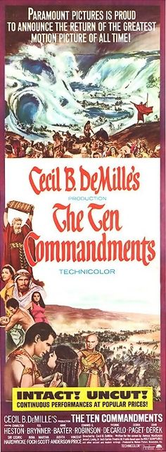 The Ten Commandments - One of the best movies ever!