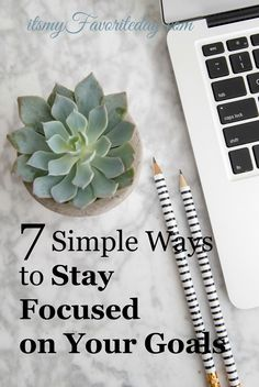 Looking for ways to stay focused on long term goals? This is a MUST READ!! Some super helpful tips! No time to read, be sure to repin.
