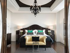 Decadent Jewel-Toned Bedrooms for a Glamorous Interior