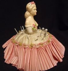 Rare Victorian Pincushion
