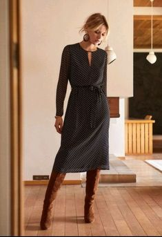 Winterkleid Winterkleid The post Winterkleid appeared first on Mode Frauen. Mode Outfits, Fall Outfits, Casual Outfits, Fashion Outfits, Womens Fashion, Fashion Hacks, Winter Dresses, Dress Winter, Outfit Winter