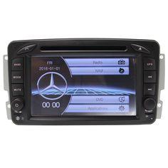 Dvd-плеер автомобиля Bluetooth RDS Для Mercedes W203 СТАРОЙ Версии GPS Navigaiton Радио Стерео Видео Рулевого Колеса FM AM MP3 SD