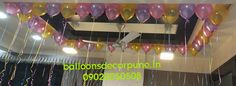 Cieling Helium Balloons Helium Gas, Helium Balloons