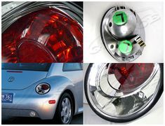 98-05 VOLKSWAGEN BEETLE ALTEZZA TAIL LIGHTS EURO CLEAR