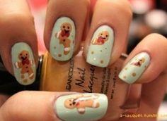 Gingerbread Man-icure...