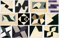Various geometrics by Lygia Clark. Hard Edge Painting, Architecture Graphics, Geometry Art, Dream Art, Home Art, Quilt Patterns, Abstract Art, Illustration Art, Quilts