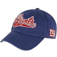 5e497f7e45b  47 New York Giants Ladies Whiplash Adjustable Hat - Royal Blue New York  Football