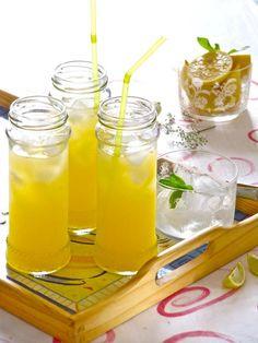 How To Make Mango Lemonade Desserts Recipe